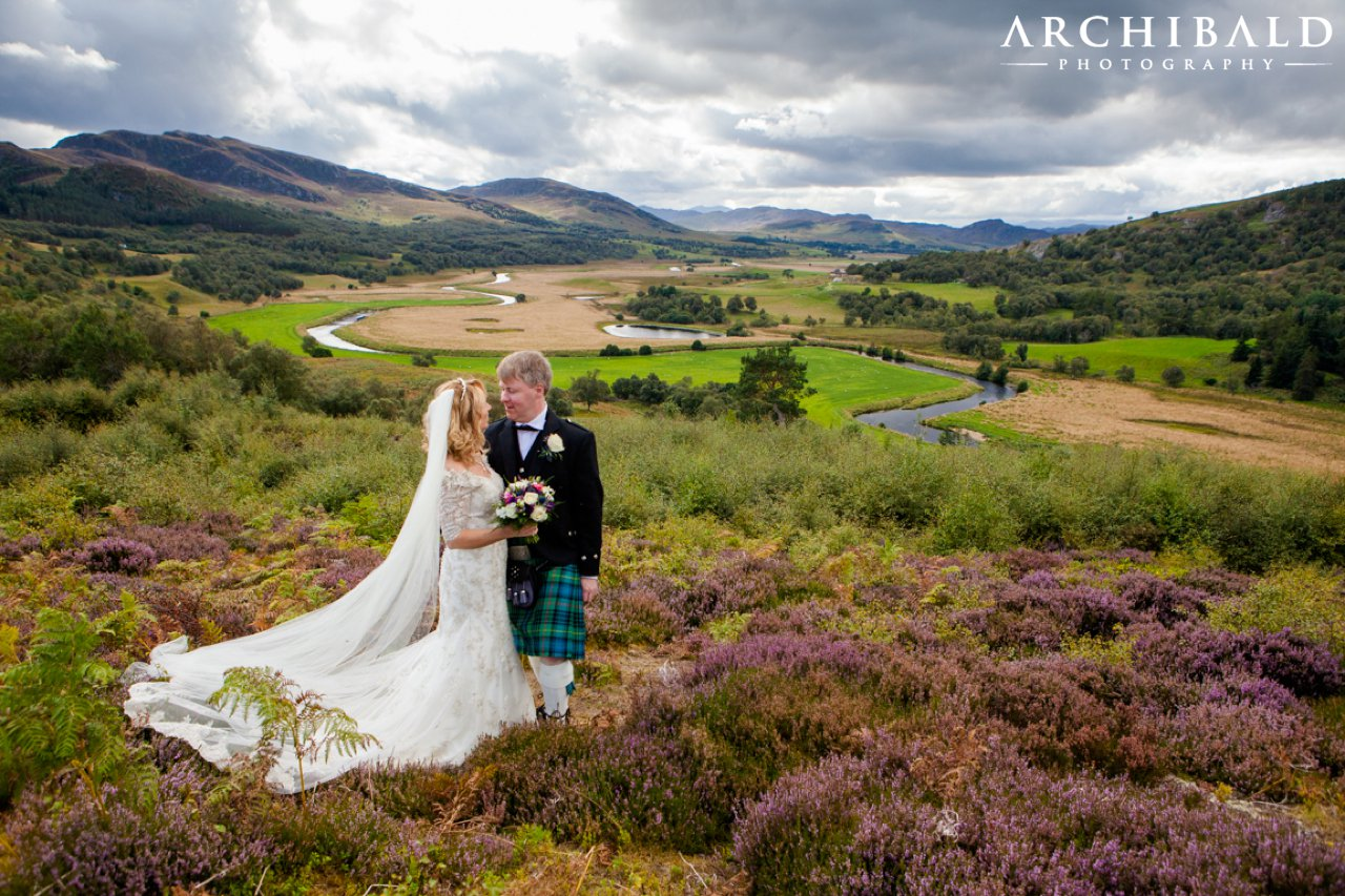 Glentruim Castle Wedding Photographer