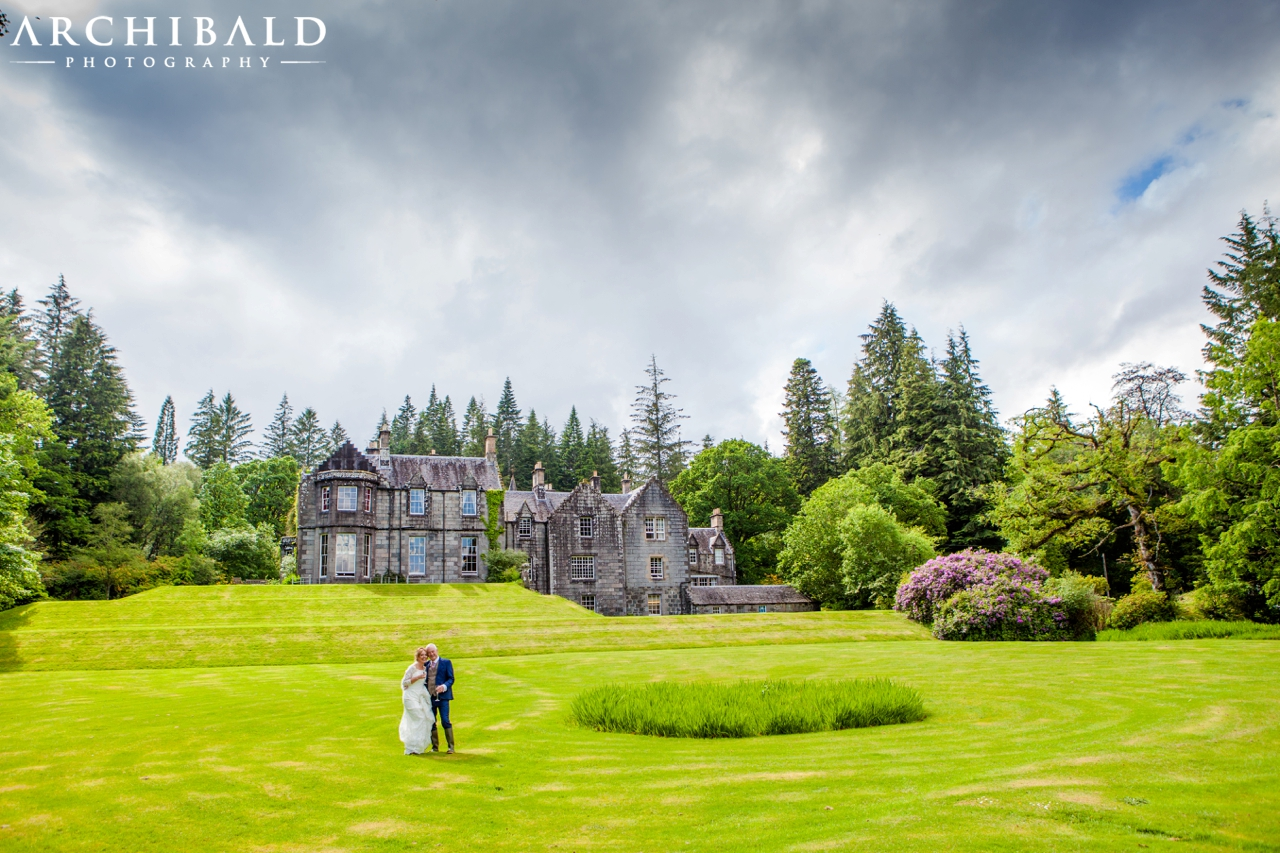 Ardanaiseig Wedding Photography by Archibald Photography