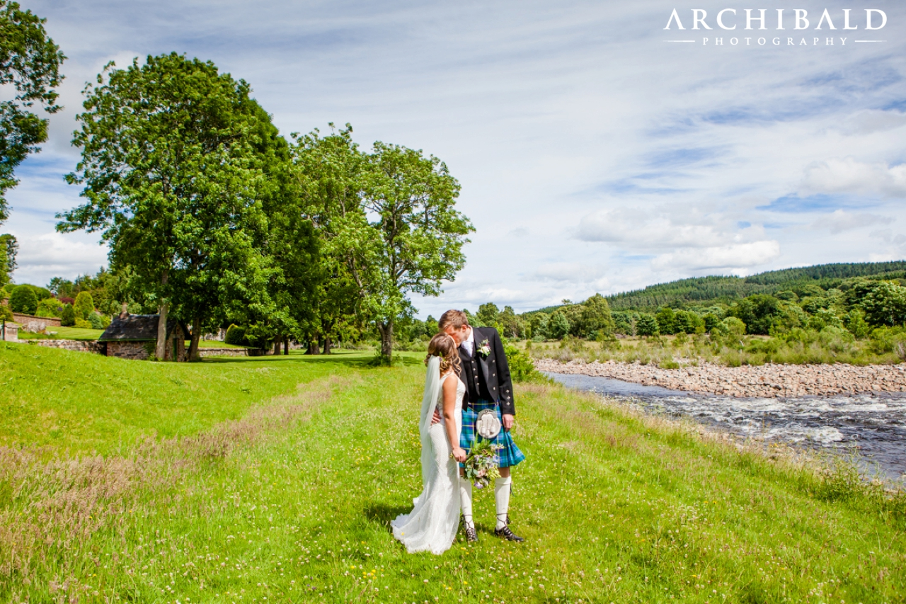 Married at Banchory Lodge Photography by Mark Archibald Photography