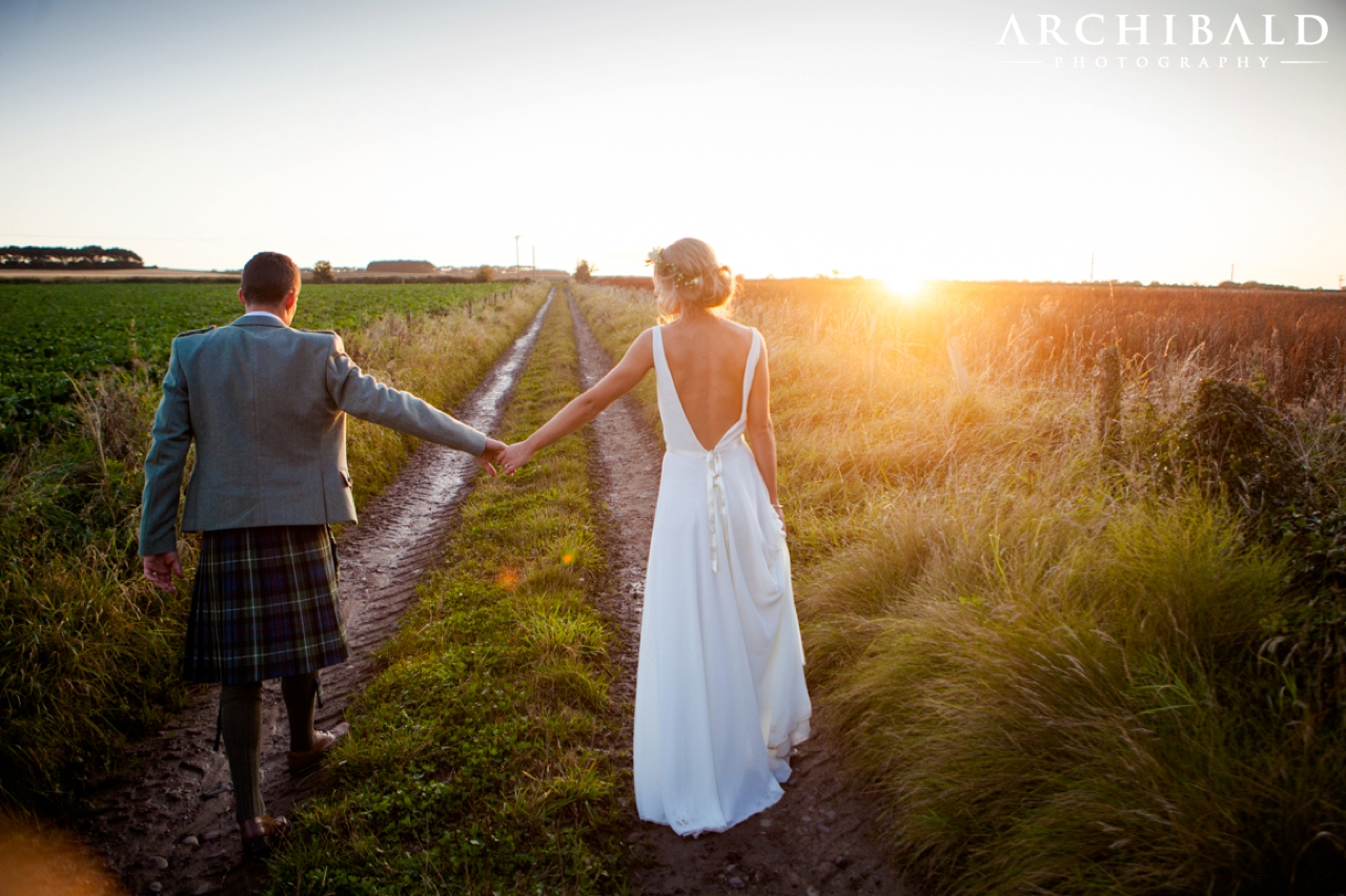 Candid Reportage Kingsbarns Beach Wedding Photography in Fife Scotland