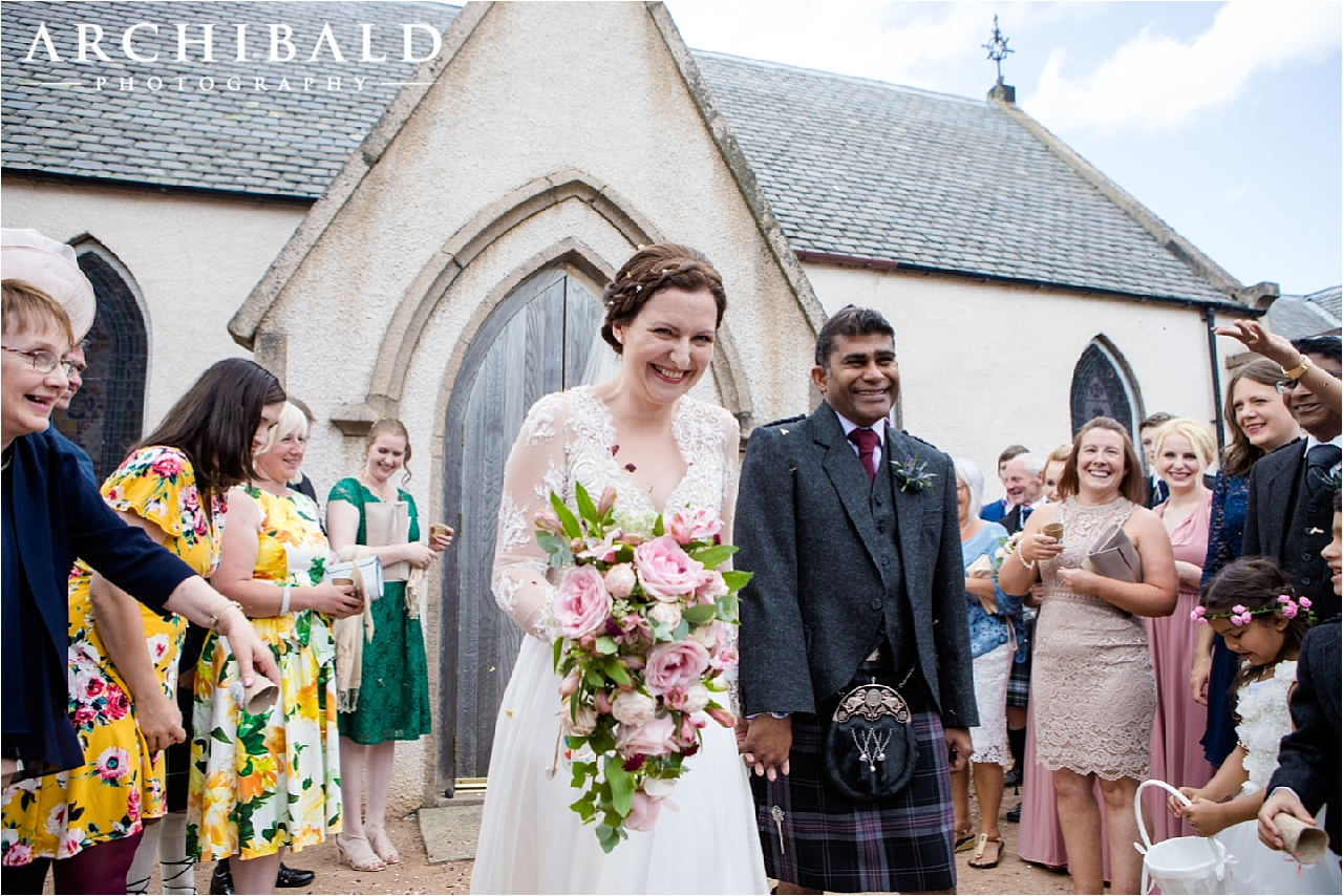A beautiful country wedding in Finzean, Banchory by Mark Archibald Photography