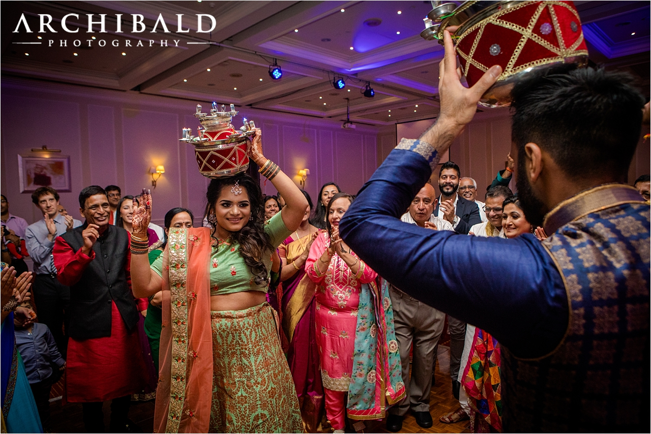 Indian Wedding Photography in Scotland by Archibald Photography
