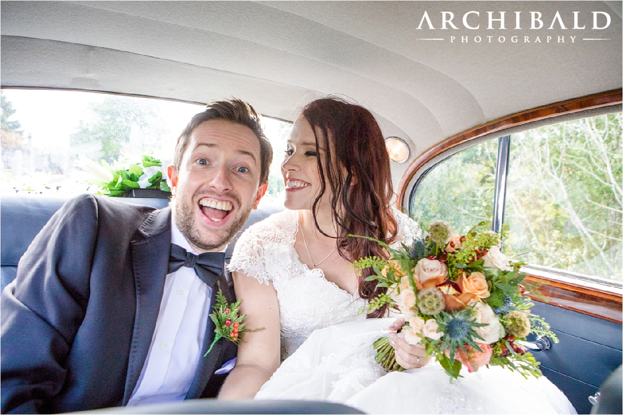 Dunblane Cathedral & Dunblane Hydro wedding photography by Archibald Photography