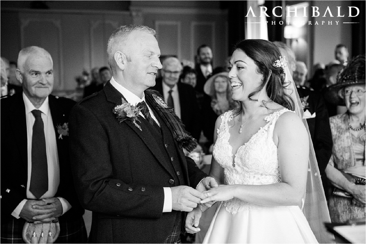 Dunblane Hydro Wedding Photography by Archibald Photography Stirling Photographer