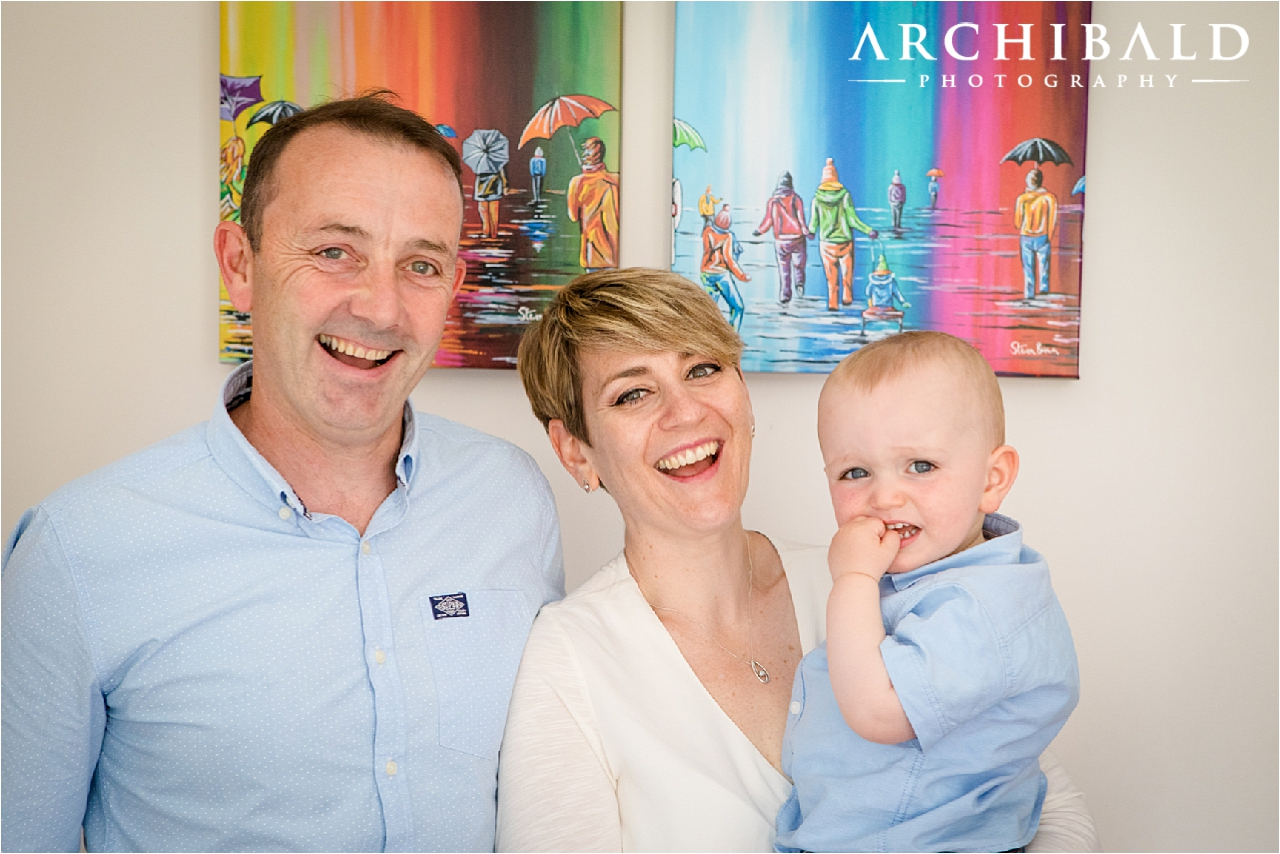 Relaxed family portraits by Archibald Photography