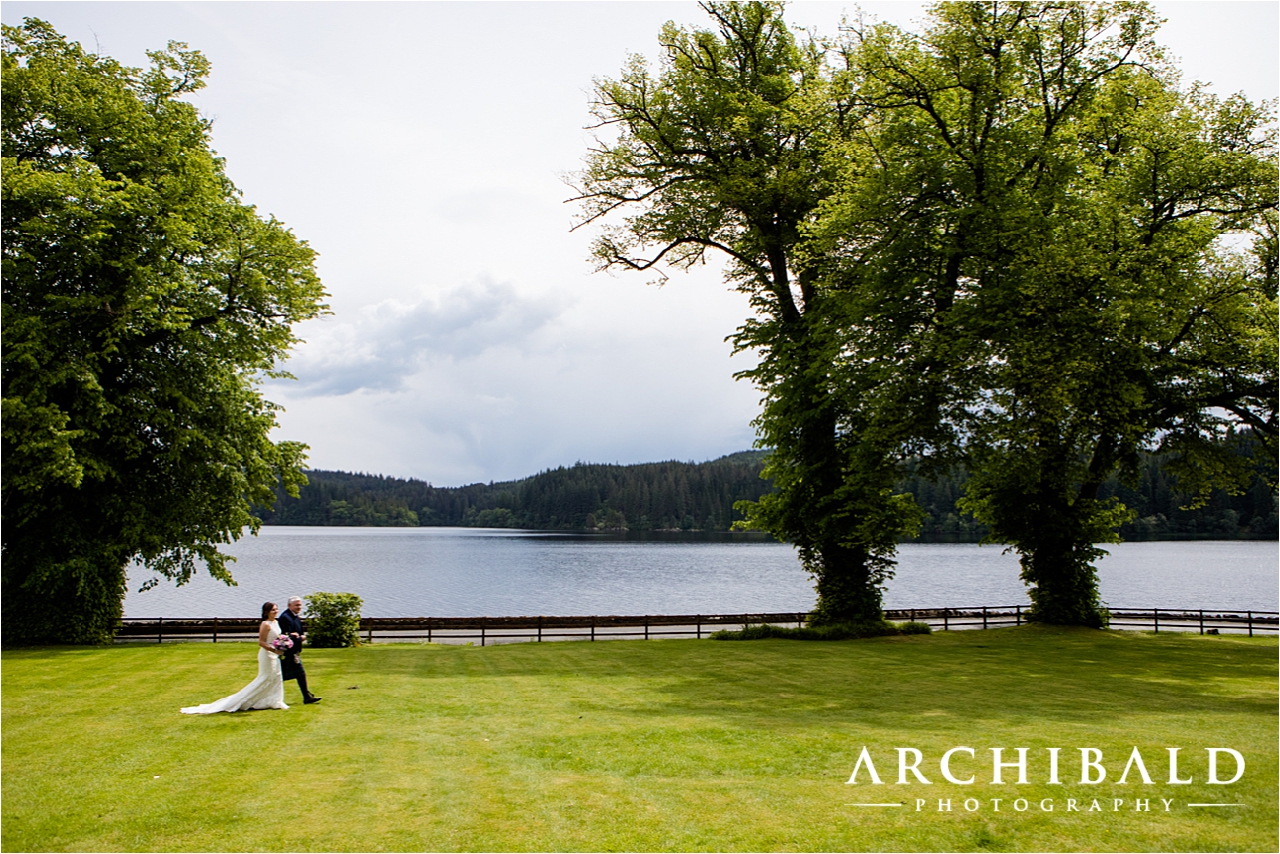 Altskeith House wedding photographer by Archibald Photography in Scotland