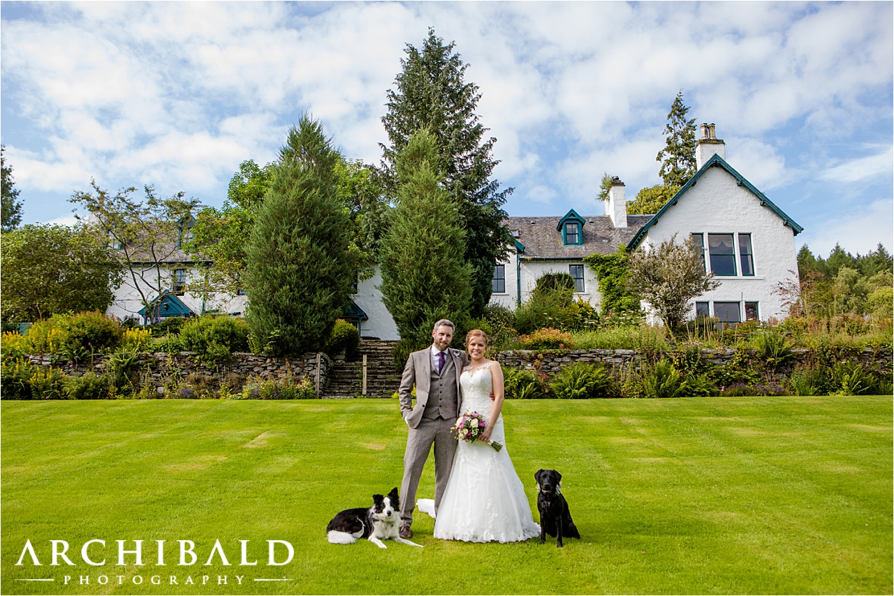 Relaxed wedding photography iat a Perthshire wedding by Mark from Archibald Photography